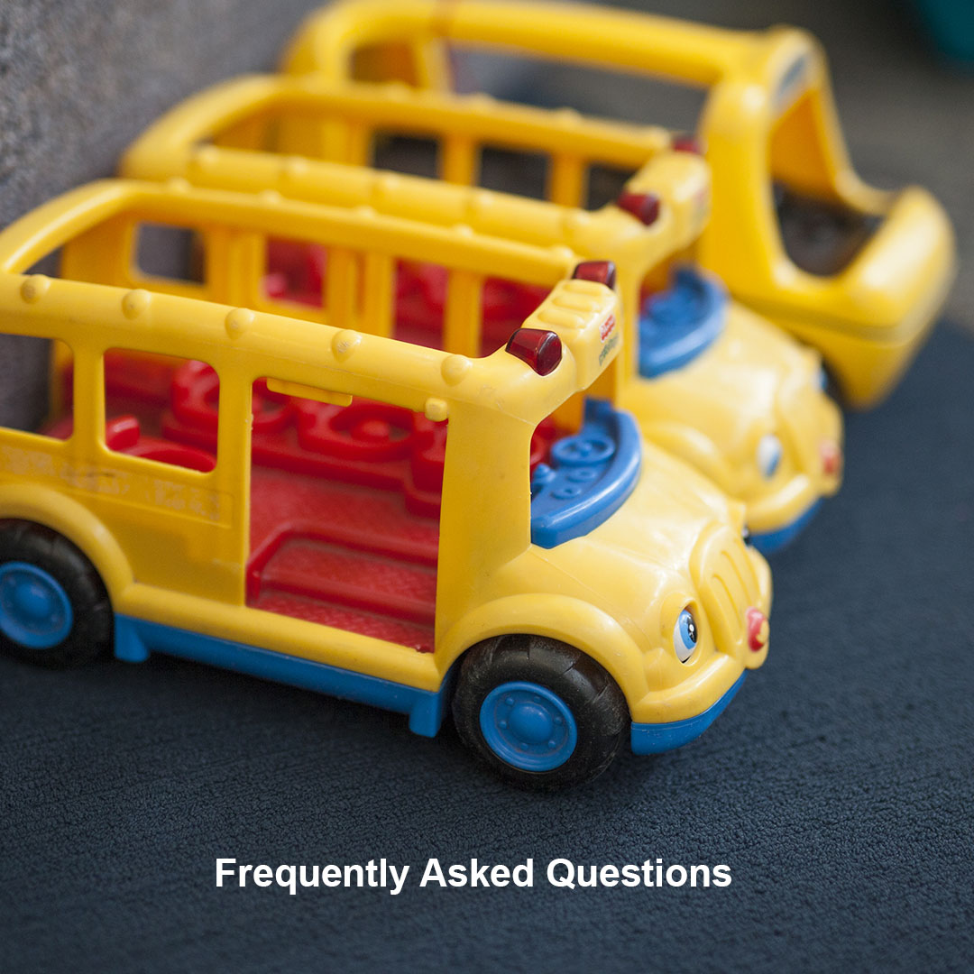 Frequently Asked Questions toy buses